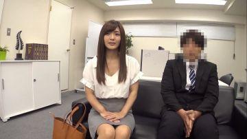 [動画]【青山はな】美人上司と男部下がエッチなゲームで発情セックス!憧れの先輩に強請られて暴発中出し3連発