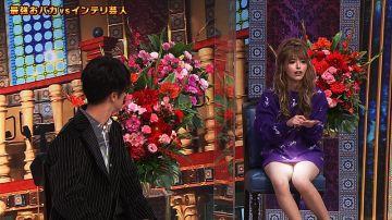 【放送事故】お茶の間の会話が止まり沈黙になってしまったテレビでのパンチラエロし~んがコチラww