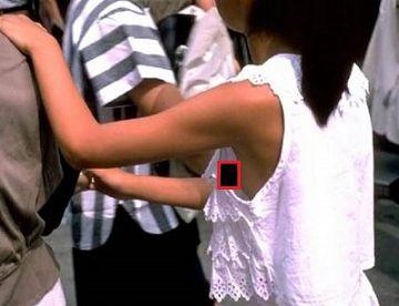 【胸チラ盗撮】10代限定!貧乳すぎて浮きブラから乳首が見えてる少女たちの事故画像まとめ