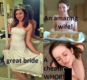 新婦さん、結婚式前夜のパーティーでハメを外し過ぎて他の男のチンポを咥えた動画が流出してしまう…