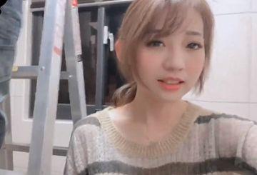 【動画】中国人美少女さん、自宅に呼んだ修理業者を誘惑してSEXする一部始終を生配信wwwwww