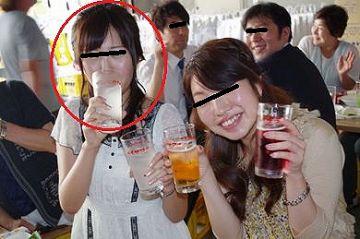 【ハメ撮り】サークル飲み会後、酔った勢いで地味な女子とラブホへ直行してみたw
