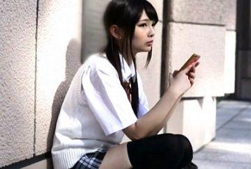 新宿の街を彷徨ってた家出女子校生を連れ帰って中出し肉便器にした一部始終 跡美しゅり