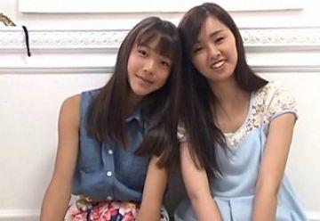 【ワレメ全開】『さわこ(14)&あやな(12)』思春期少女が共演したイメージビデオがヤバすぎたwww