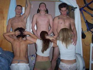 【個人撮影】両親には絶対見せられない!大学生の自由参加セックスパーティー動画が流出!