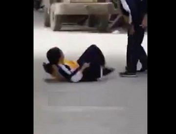 【隠し撮り】部活帰りの女子中学生さん、勃起した同級生に襲われる…