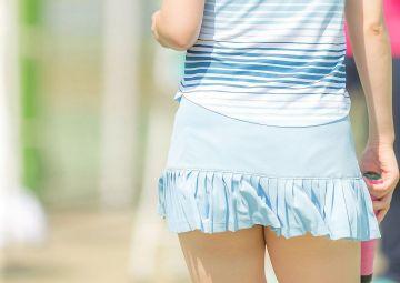 【画像】女子テニスのユニフォーム、いくら何でもエロ過ぎる