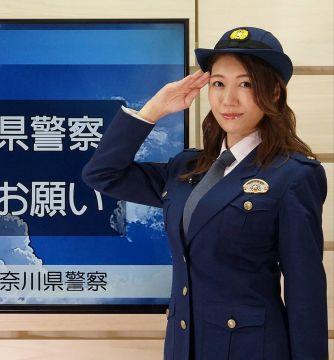【画像】奈良県警の女性警官おっぱいがでっかい(推定Gカップ)