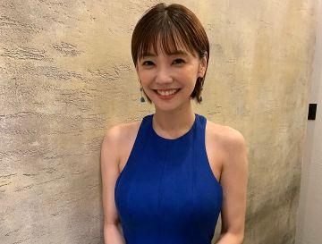 【悲報】倉科カナさん、ドレス巨大バストを披露するも胸の位置が…