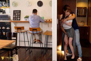 カフェや居酒屋でこっそりハメる営業中のセックス画像