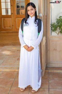 咲田ラン アオザイを着たベトナム美少女セックス画像