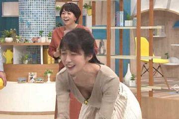 澤井志帆アナおっぱい丸見え放送事故…(※エロ画像あり)