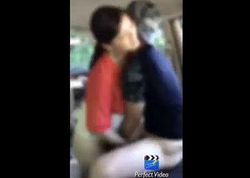 【個人撮影】夫が撮影。妻をスポーツ公園にいたアスリート大学生と車内でSEXさせた一部始終。。。
