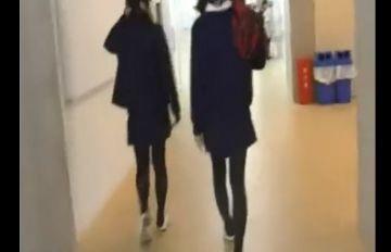 【個人撮影】放課後に教室でオナニー見せっこ!JK3人が悪ふざけで友達と撮ったスマホ動画がこちらwwww