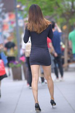 素人が履いても一気にエロくなるタイトミニの太ももに尻がエロ過ぎる件