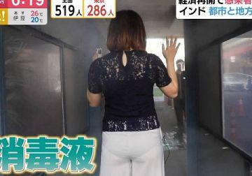 【TV パンツ】地上波でパンツが完全に透けてしまった女たちwwwwww