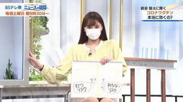 角谷暁子アナ、超ミニスカパンチラハプニングwwwwwww【動画あり】