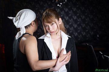 【無】芸能人達のカキタレ美女・如月結衣がガテン系の男にハメられてる