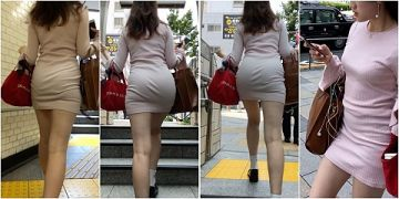 履くだけでエロさが倍増するタイトミニスカのエロ画像
