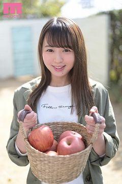 実家はりんご農園の素朴な東北出身の広瀬みつきがAVデビュー
