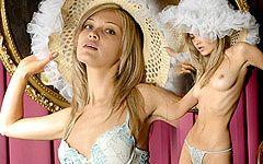 おとぎ話の王女を夢見るロシアンモデル、アンナの魅惑的セクシーヌードグラビア!