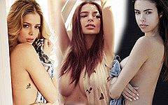 世界で活躍するファッションモデルのセクシーショット50枚