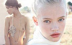 世界に暮らす可愛い少女たちのセミヌードグラビア画像71枚