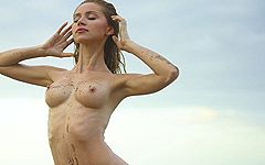 神秘なる女体と大自然との融合をアート的に表現したウクライナのエロティックヌードコレクション! Sonya ver.