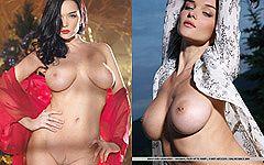 ウクライナ産ジェニャという名の美味しい垂れ巨乳モデルグラビア画像20枚!