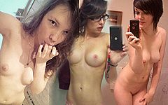 コレクションに値する世界の美少女たちのエッチな鏡撮りヌード画像27枚 Part9