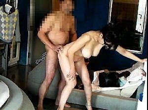 【熟素人・無】 ノリは若い、熟年夫婦の円熟したセックス風景。