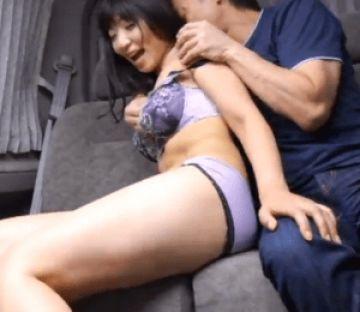 """【人妻ナンパ】無理やり脱がせても""""まんざら""""でもない熟女!ブラを外すすとビンビンに勃起した乳首!「もう気持ち良くして♡」"""